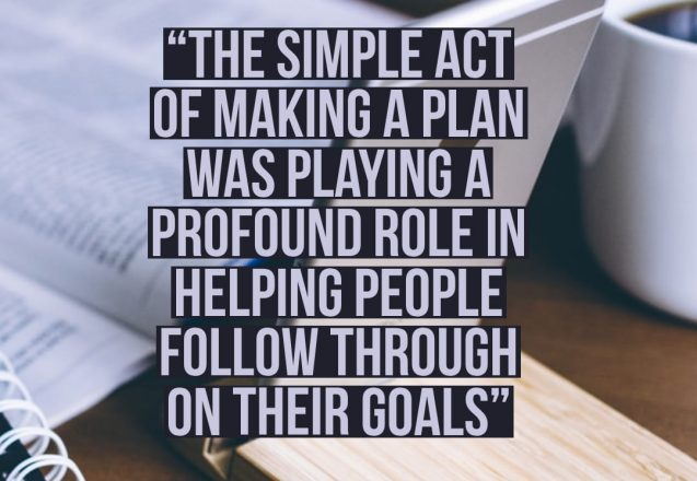 Make a Plan to Succeed