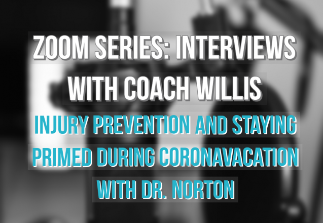 Zoom Call Series: Injury Prevention and Staying Primed